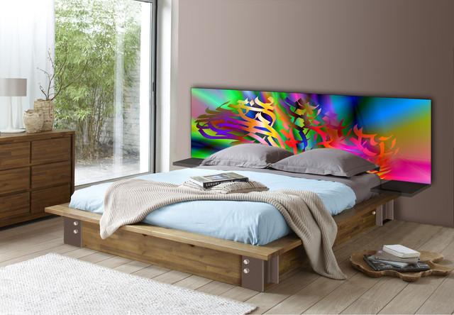 t te de lit mod le arbre 7 contemporain tete de lit. Black Bedroom Furniture Sets. Home Design Ideas