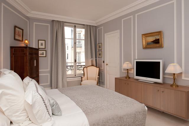 un appartement dans le quartier de l 39 europe paris classique chic chambre paris par. Black Bedroom Furniture Sets. Home Design Ideas