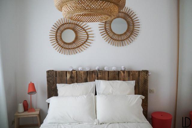 Une chambre naturelle scandinave chambre montpellier for Chambre naturelle