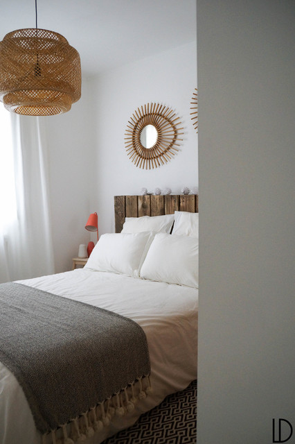 Une chambre naturelle scandinavian bedroom for Chambre naturelle