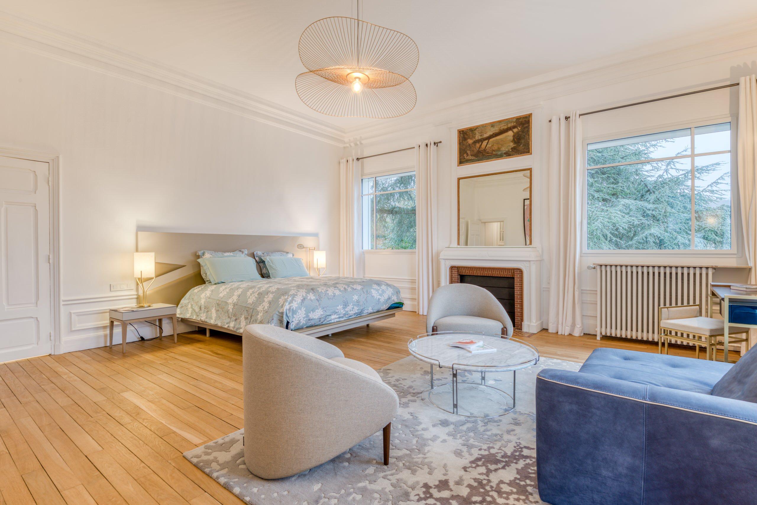 Villa de 650 m2 à Saint-Germain-en-Laye - La chambre Master