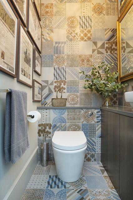 20 pavimenti che stanno bene in un piccolo bagno - Bagno in francese ...
