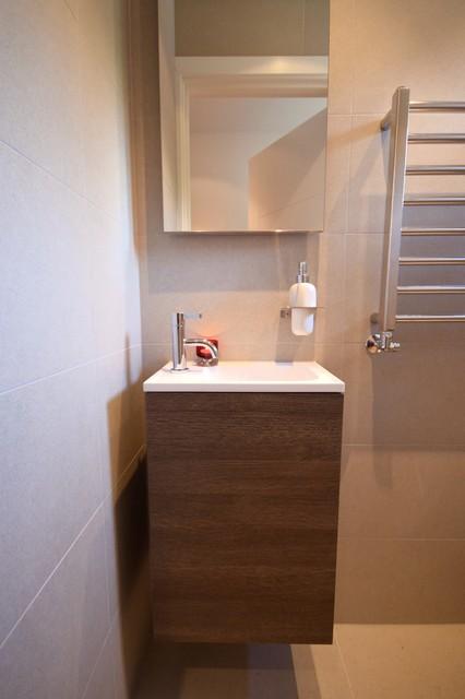 Bathrooms earlsfield moderno bagno di servizio - Bagno di servizio ...
