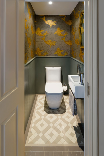 Ordinaire Battersea House Traditional Powder Room