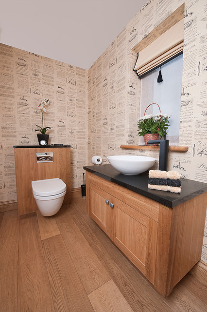 Staffordshire Farmhouse Country Cloakroom Surrey