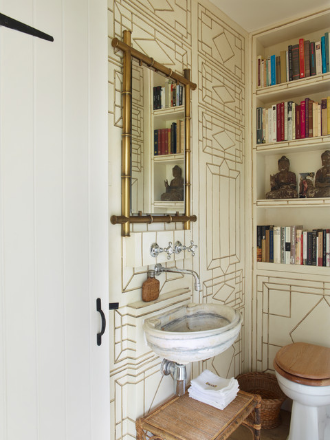 Sussex Farmhouse Country Cloakroom London