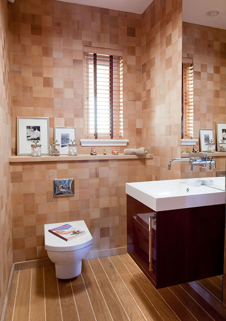Young Family House Contemporary Powder Room Other Metro By Malcolm Duffin Design