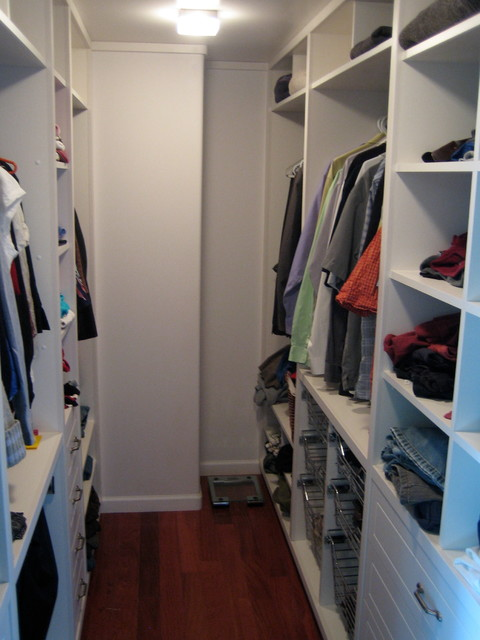 1019 Master Ensuite And Walk In Closet Traditional Closet Other Metro By Think Design