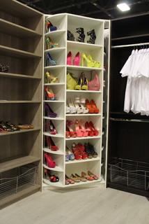 360 degree revolving closet organizer - Transitional - Closet - Miami