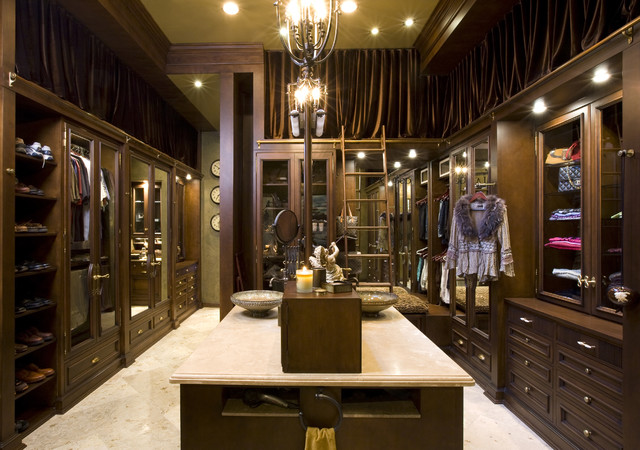 Robeson Design Interior Designers Decorators A Closet Any Woman Would Die For Traditional