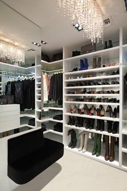 A Designer's Closet contemporary-closet