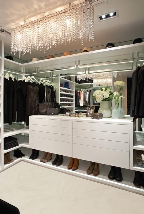 A Designers Closet contemporary closet