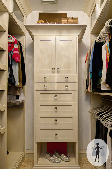 A Divine Closet traditional-closet