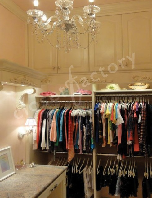 A little girl's dream closet - Eclectic - Closet - Dallas - by Kay Wade, Closet Factory