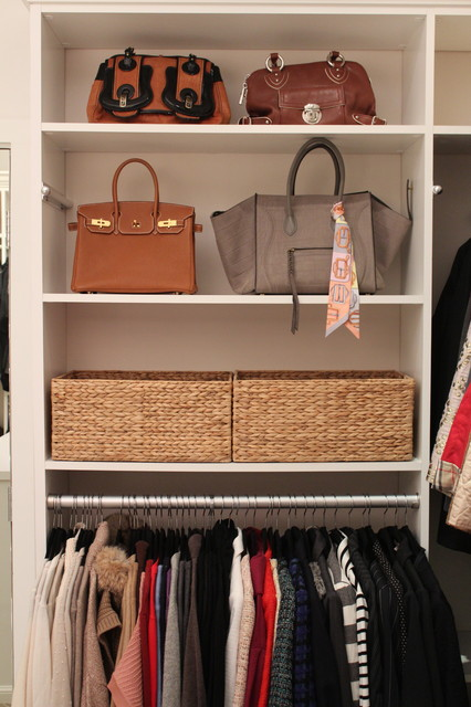 A NEAT client's dream closet contemporary-closet