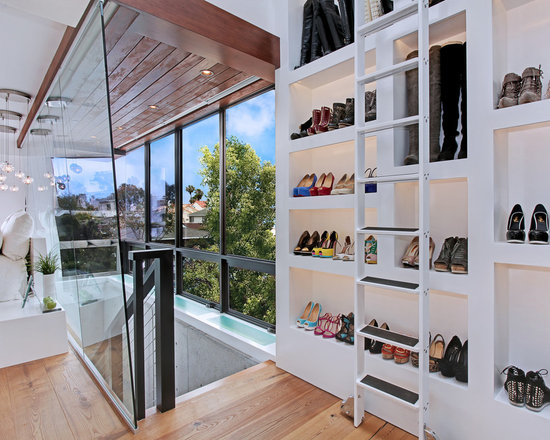 Closet With Window Openings Home Design Ideas, Pictures, Remodel and Decor