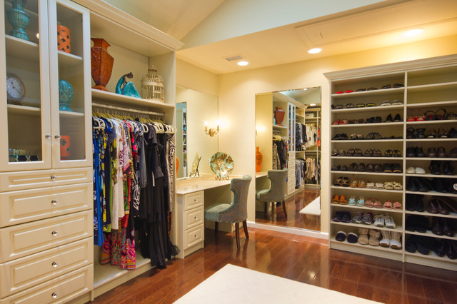 Amazing Closet That Feels Like A High End Boutique Traditional - High end closet design