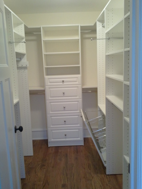 Amazing Space Custom Closets Traditional Closet