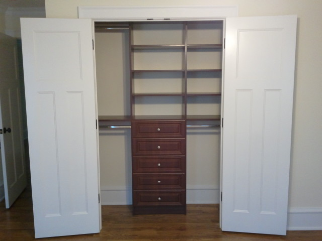 Amazing Space Custom Closets Traditional Closet New
