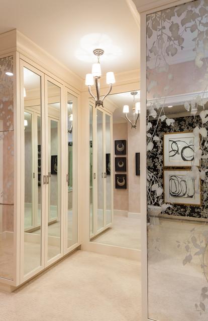 Anthony michael interior design closet contemporary for Closets by design chicago