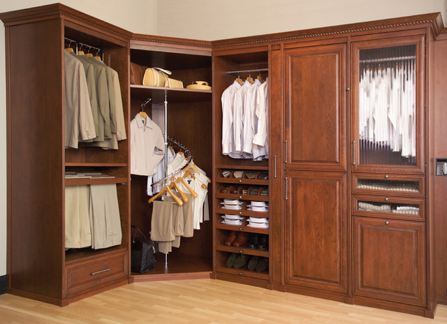 Orted Siena Collection Closets Premium Wood Closet