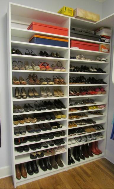 Atlanta Closet Double Shoe Shelves - Contemporary - Closet - atlanta - by Atlanta Closet ...