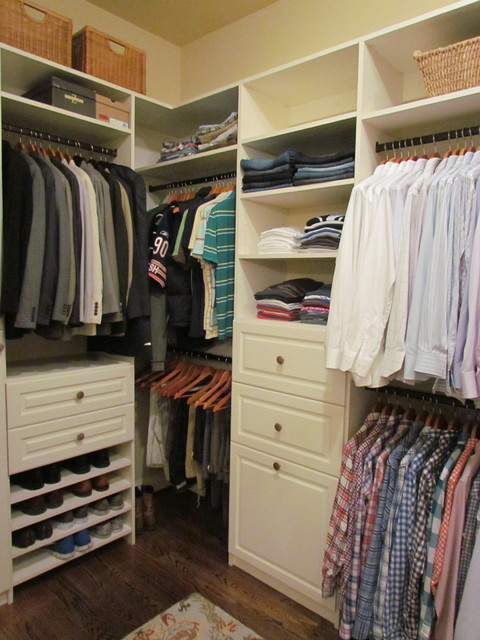 Atlanta closet walk in closet 19 traditional closet - Storage solutions for small closets ...