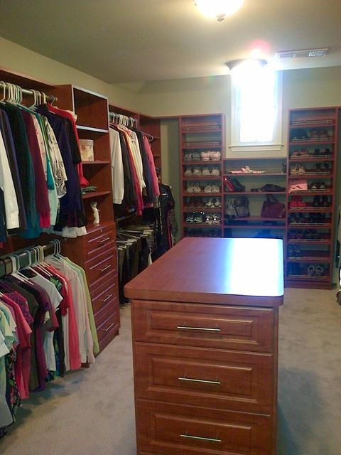 Atlanta Closet Walk-in Closet 26 traditional-closet