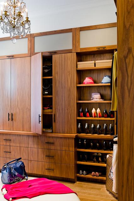 Back Bay Apartment contemporary-closet
