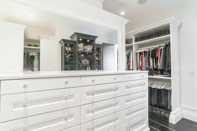 Balmoral Transitional Closet Edmonton By Novel