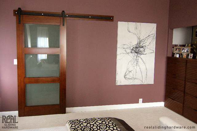 Barn Door Hardware Traditional Closet Seattle By