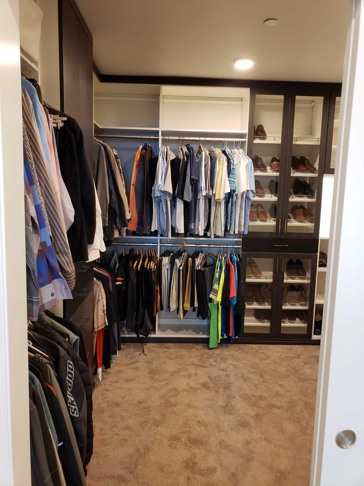 Beautiful Walk-in Closet