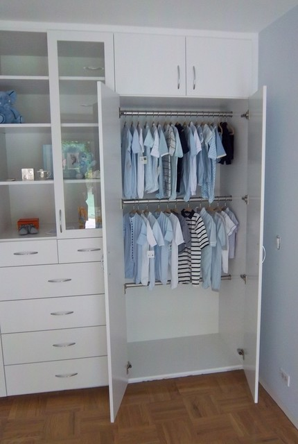 Bedroom Cabinets - Modern - Closet - Santa Barbara - by Closet Crafters