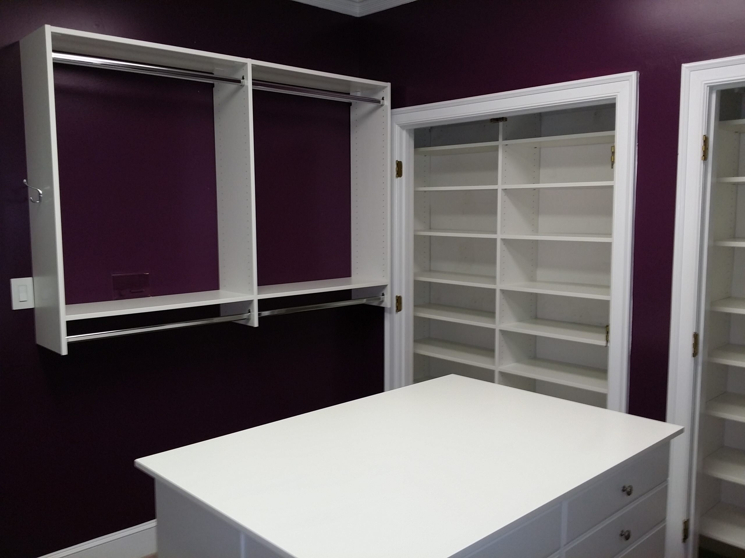 Bedroom Conversion to a Walk-In Closet