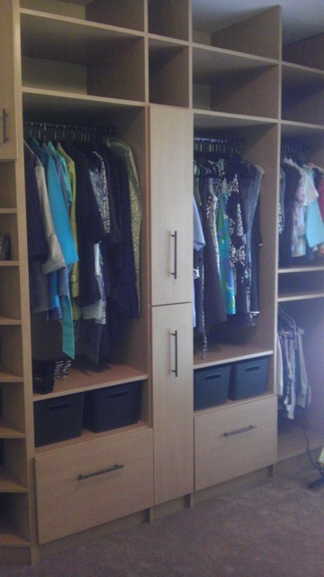 Bedroom To Master Conversion Traditional Closet Charlotte By Dream Closets Inc