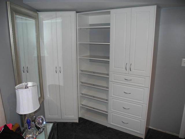 Bedroom Without A Closetcontemporary Closet Newark