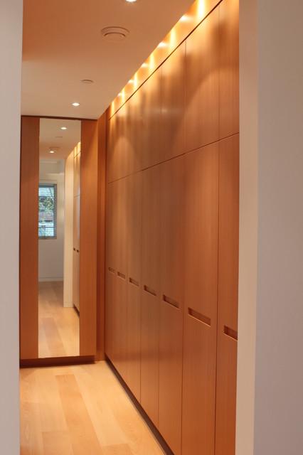 Beech Wood Home Master Closet (Project 1272) modern-closet