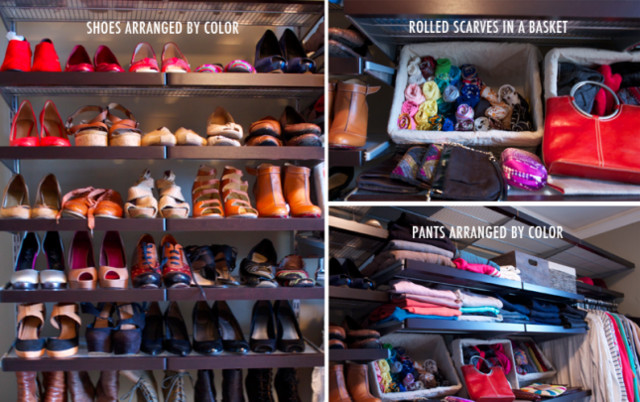 Before and After Bedroom to Closet traditional-closet