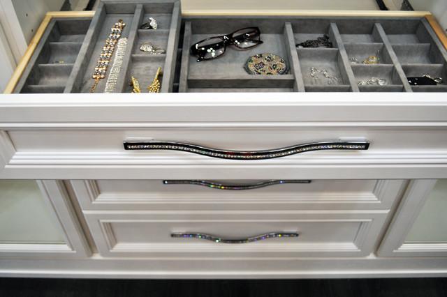 Belissima White Master Closet Modern Wardrobe