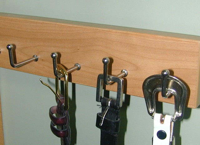 Belt Rack closet