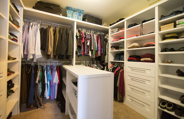 Ben And Jennie S Custom Master Walk In Closet