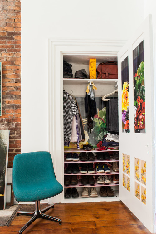 Small closets tips and tricks queen bee of honey dos - Storage solutions for small closets ...