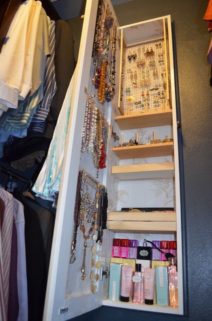 between studs jewelry armoire - Eclectic - Closet - Seattle