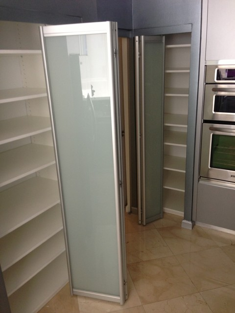 Bi Fold Doors Contemporary Closet Miami By Metro