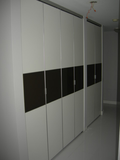 Bifold Closet Doors Modern Closet Miami By Apa Closet Doors