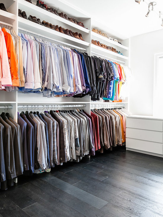 Double Rod Closet : Double rod closet home design ideas pictures remodel and