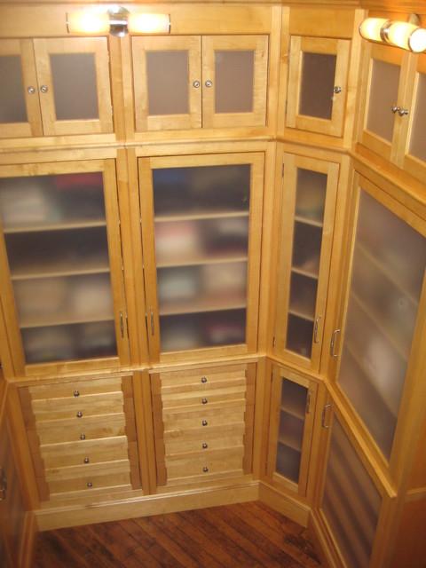 Brian Clancy, Clancy Woodworking LLC modern-closet