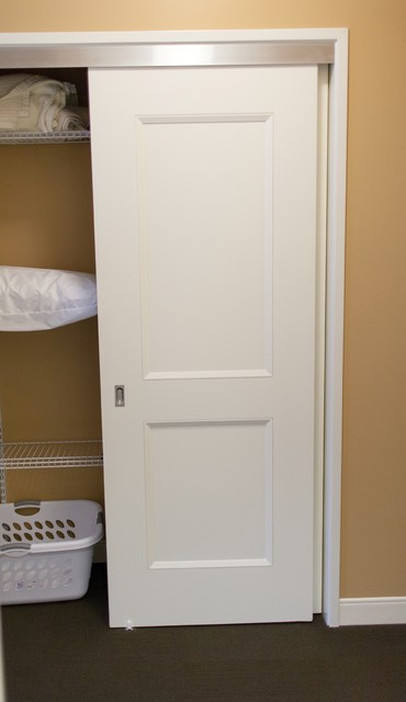 Bypass 2 panel doors - Traditional - Closet - chicago - by ...