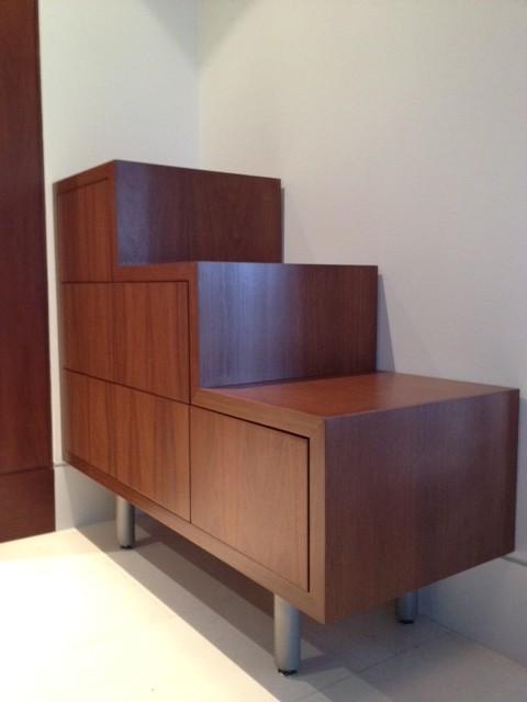 C-Shoebox modern-closet