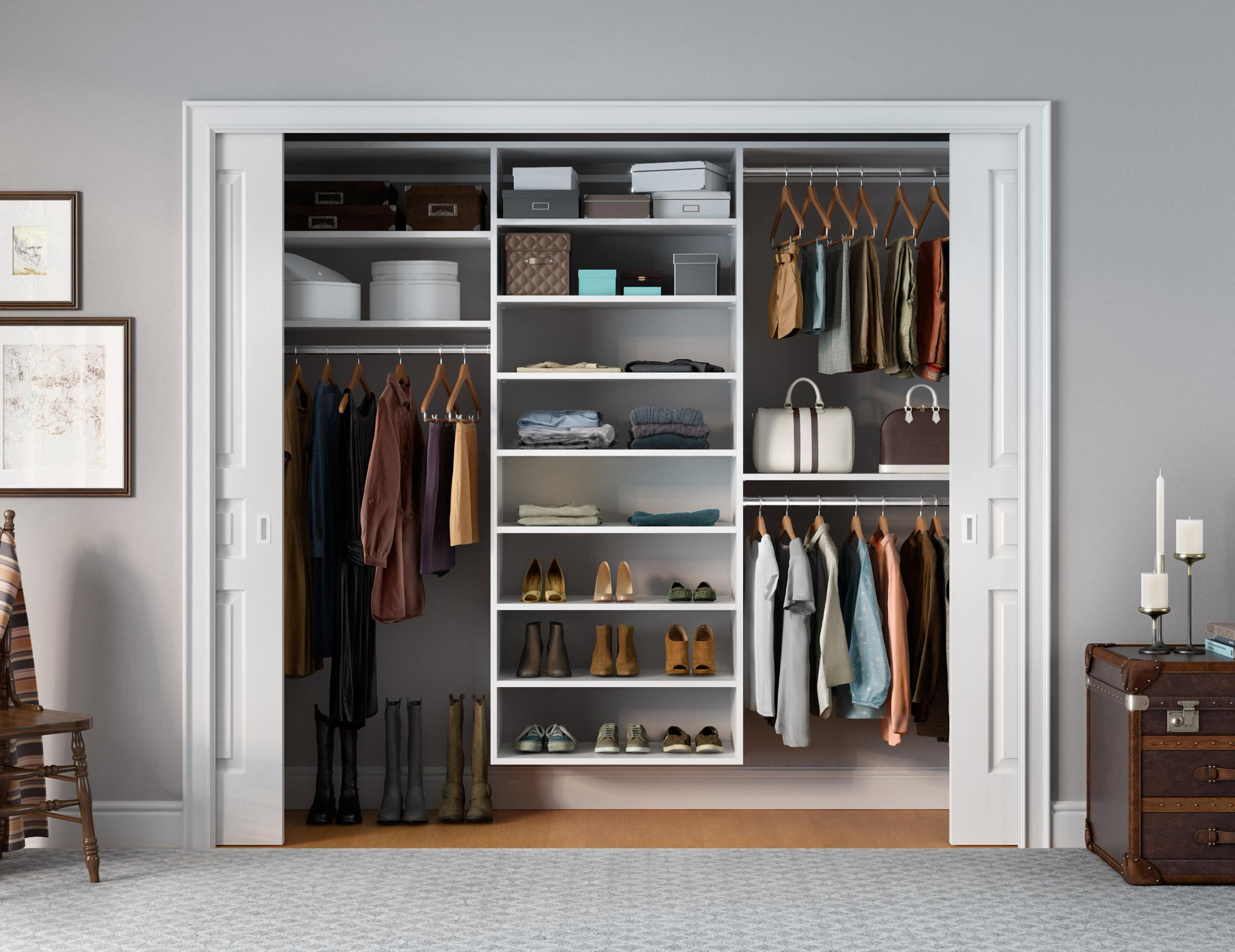 Picture of: 75 Beautiful Small Closet Pictures Ideas November 2020 Houzz